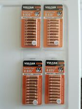 "New Vulcan 0.035"" Mig Welding Heavy Duty Contact Tips 40 Pack - 63790"