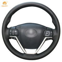 Leather Steering Wheel Cover for Toyota Highlander 2015-2017 Sienna #0408