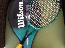Wilson Advantage Midsize L3 4 3/8 Tennis Racket Super High Beam Series w/ Cover