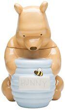 "Winnie the Pooh Cookie Jar Disney Treasure Craft Zak Designs Hunny Pot 12"" NIB"
