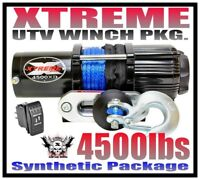 XTREME WEK-12 UTV Winch 12ft Battery Wire Extension Kit For CREW Style UTVs 6 Gauge