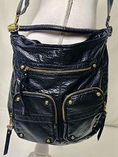 Nicole Miller New York For Arizona Jeans Black Vintage Style Messenger Bag