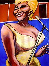 ETTA JAMES PRINT poster blues best of cd essential modern love songs chess live