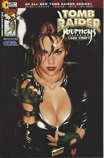 TOMB RAIDER JOURNEYS COMIC BOOK 1B VARIANT BY HUGHES 2001 IMAGE/TOP COW NM