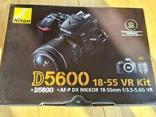 Nikon D5600 18-55mm VR Kit. Camera and Lens (78 shutter count)