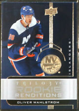 New listing 2019-20 OLIVER WAHLSTROM UPPER DECK TRILOGY ROOKIE RENDITIONS INSERT CARD!