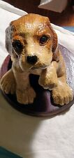 Vintage Homco Home Interiors Beagle Sweet Puppy Figurine Statue
