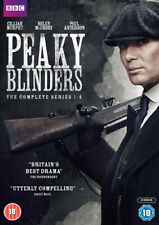 Peaky Blinders: The Complete Series 1-4 DVD (2018) Paul Anderson ***NEW***