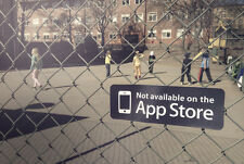 Not Available On App Store notonappstore kids play hipster life Fun Sticker