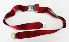 "New! RED Seat Belt Each 60"" Mustang Falcon Cougar Tbird Tiger Comet More.."