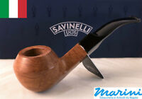 Smoking pipes pipe Savinelli 624 KS curve briar natural waxed wood made in Italy