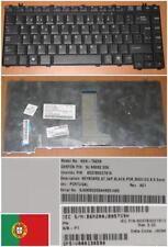 Clavier Qwerty Portugais TOSHIBA A300 NSK-TAE06 9J.N9082.E06 6037B0027810 Noir