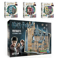 Wrebbit  Harry Potter 3D Jigsaw Puzzle Hogwarts Astronomy Tower Diagon Alley UK