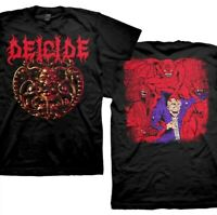 New Deicide Medallion Double Sided Death Metal Shirt (SML-2XL) badhabitmerch