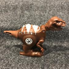 "2014 Hasbro Jurassic World Brawlasaurs Brown Allosaurus Dinosaur Figure 4"""