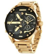 Diesel DZ7333 Mr. Daddy 2.0 Multi-Time Zone Wrist Watch for Men - Gold
