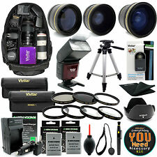 Nikon D3200 D5500 D5300 D3300 D5200 SLR Camera Everything You Need Accessory Kit