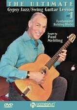 Ultimate Gypsy Jazz Swing Guitar Lesson Building Blocks Learn to Play Music DVD1