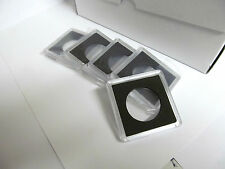 "5 - 2x2 plastic snaplock coin holders for HALF DOLLAR  "" FREE SHIPPING """