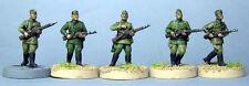 TQD Ri05 20mm Diecast WWII Russian Red Army Riflemen in Soft Caps