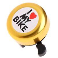 Bicycle Bell -' I Like My Bike'Bike Horn - Loud Aluminum Bike Ring Mini Bik B6W9