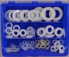 Sortiment Kunststoffscheiben DIN 125 Box Neu! Hochwertig, 185 - teilig Blaue Box