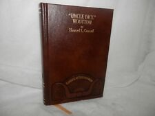 """Classics Of The Old West - """"UNCLE DICK"""" WOOTTON by Howard L Conard H/C F/S"""