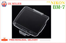 BM-7 Hard LCD Monitor Cover Screen Protector BM7 for Nikon D80 UK Sale