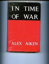 brst- IN TIME OF WAR ( story of HMS Glenearn RN )  Aiken signed 1st UK  HBdj VG