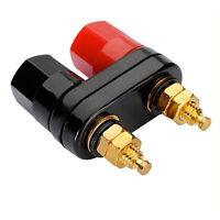 HQ connettori placcati oro speaker amplificatore Binding Post jack BANANA