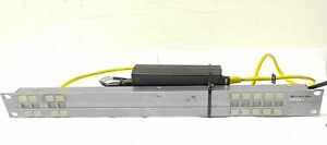 Miranda RCP-1010 Router control panel for up to 10 sources w/ power injector