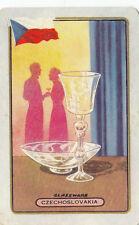 Olympic Games 1956 Melbourne swap card glassware Czechoslovakia Coles Exclusive