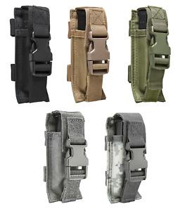 NcSTAR Single Pistol Double Stack Magazine Clip Pouch MOLLE Gear PALS Belt PVC