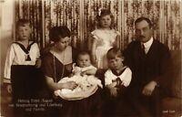 CPA AK Herzog Ernst August v. Braunschweig Familie GERMAN ROYALTY (868051)