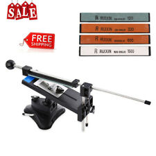 RUIXIN PRO Professional Knife Sharpener Kitchen Grinder Sharpening System+4Stone