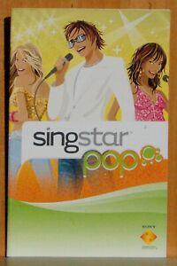 Manual Instructions Singstar Pop PLAYSTATION