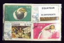 Equateur - Ecuador 50 timbres différents oblitérés