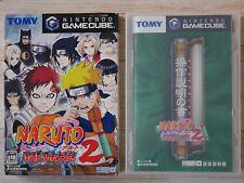 Nintendo GameCube Naruto Gekitou Ninja Taisen 2 Japan Import NGC Game F/S Used
