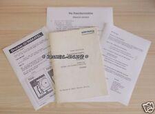 L026 POST Bedienungsanleitung - Makatel Kreditkartentelefon + Drucker 80er Jahre