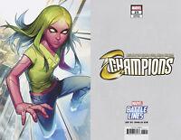 Champions #25 Jong-Ju Kim Battle Line Variant Marvel Comic 1st Print 2018 NM
