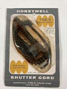HONEYWELL SHUTTER/FLASH CORD #449 74K-3 HOUSEHOLD TO LEICA IIIf & IIIg NOS AA