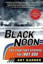 Black Noon: the Year They Stopped the Indy 500 by Art Garner (2016, Paperback)