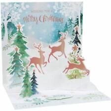 Pop-Up Christmas Card Trearures by Upwithpaper - Prancing Reindeer