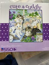 Jigsaw Puzzle Cute- Seaside Memory-550 Piece Jigsaw Puzzle ~New~ Reduced