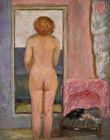 Pierre Bonnard Naked Woman Back View Canvas Print  16 x 20     #4164