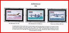 MICRONESIA 1984 AIRMAILS / PLANES mnh HYDROPLANES, AVIATION (R-A-P4)