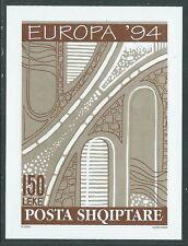 1994 EUROPA ALBANIA FOGLIETTO MNH ** - B