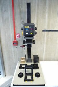 LPL C7700 Pro Enlarger - for 35mm, 6x6, 6x7 - with Nikon 50mm f/2.8 + 80mm f/...