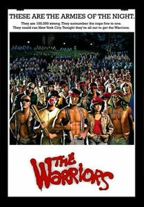 THE WARRIORS 1979 MOVIE Film Cinema Vintage Art Print Poster Wall Picture A4 +