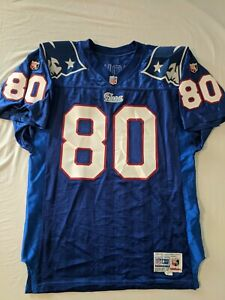 Vintage Wilson Pro Line NFL New England Patriots Troy Brown Football Jersey